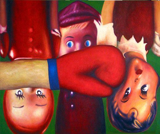 Tre bambole