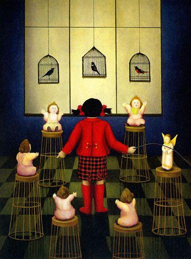 La camera delle bambole