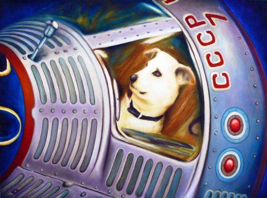 Laika nello spazio