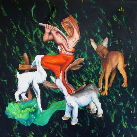 Pastorello, capre, cavolo e lupo